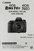 Canon T6s Manual