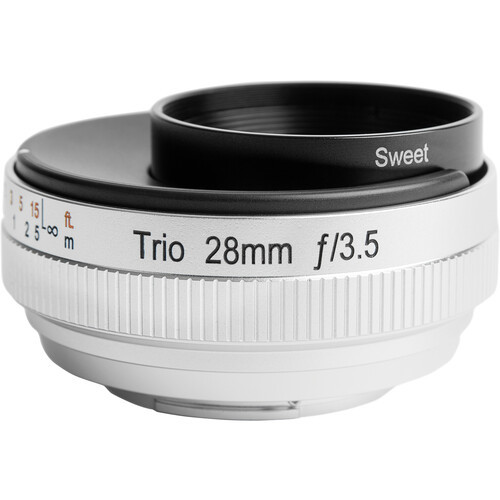 Lensbaby trio 28mm f 3.5 for micro 4 3