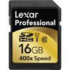 Lexar 16GB SDHC Professional 400x Class 10 UHS-I Memory Card
