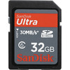 SanDisk 32GB Ultra SDHC Memory Card 30 MB/s (Class 6)