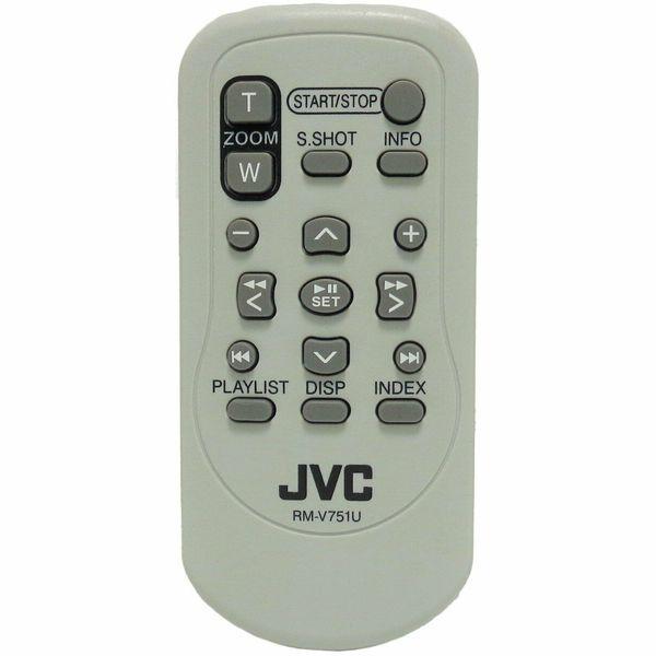 Jvc rm v751u camcorder remote