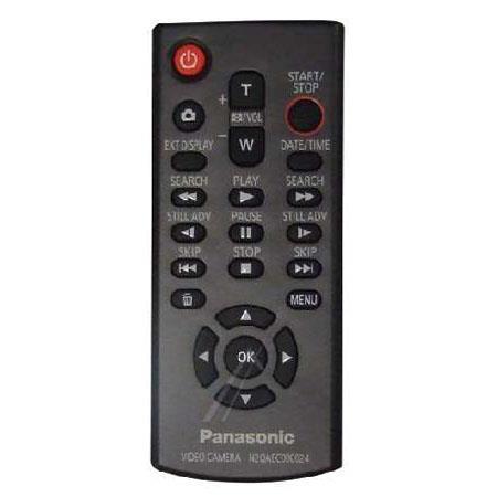 Panasonic n2qaec000024 camcorder remote