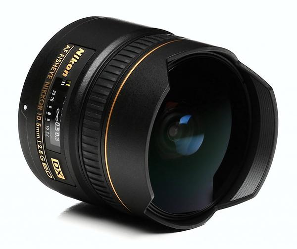 Nikon 10.5mm f 2.8 af dx fisheye