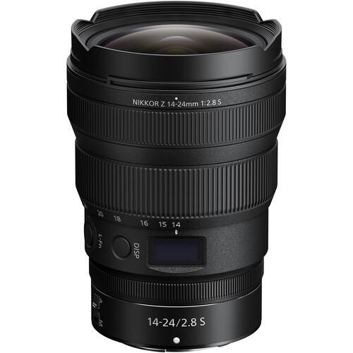 Nikon z 14 24mm f 2.8 s lens