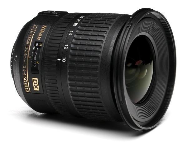 Nikon 10 24mm f 3.5 4.5g dx