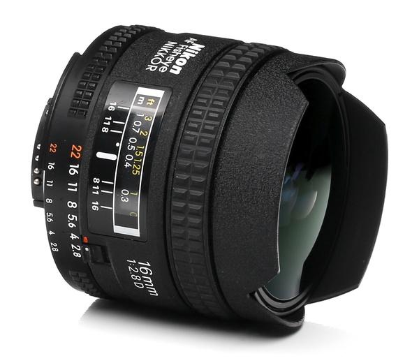Nikon 16mm f 2.8 d