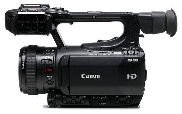 Canon xf105 hd camcorder