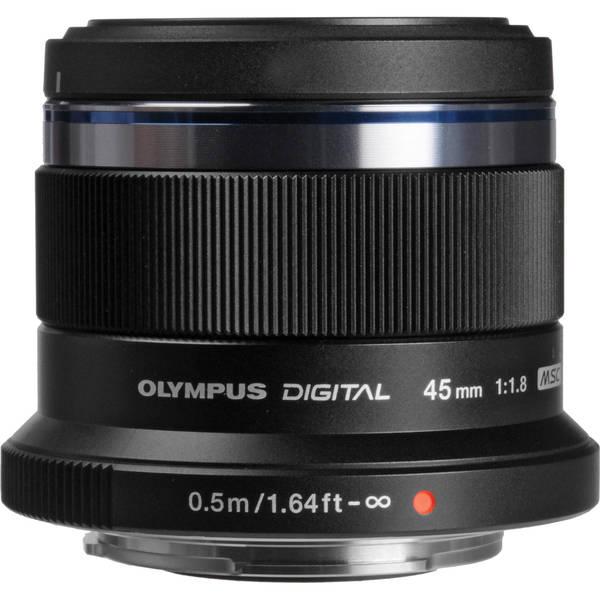 Olympus v311030bu000 m 45mm f1 8 lens 971404