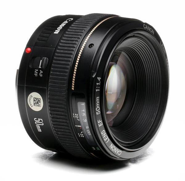 Canon 50mm f 1.4