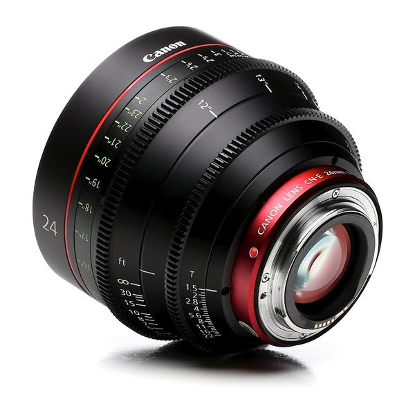 Canon cn e 24mm t1.5 l f cine lens c