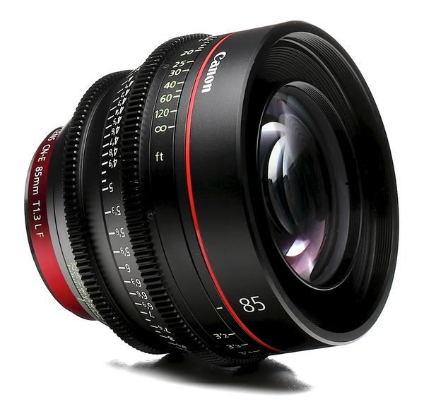 Canon cn e 85mm t1.3 l f cine lens b