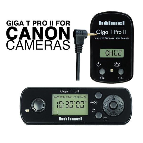 Hahnel giga t pro ii remote shutter release for canon