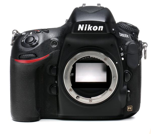 Nikon d800e camera