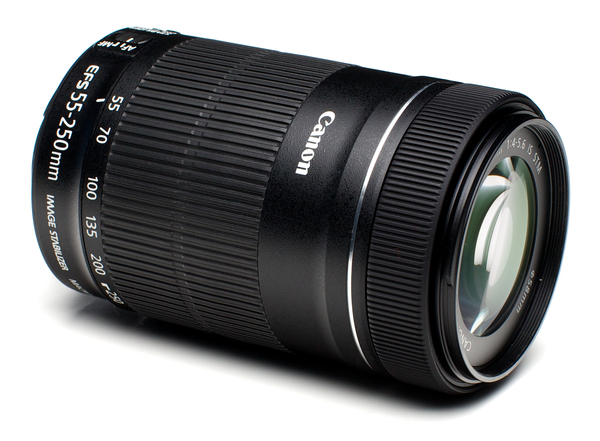 Canon ef s 55 250mm f 4 5.6 is stm