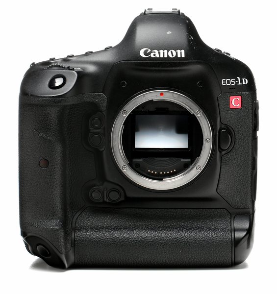 Canon eos 1dc camera