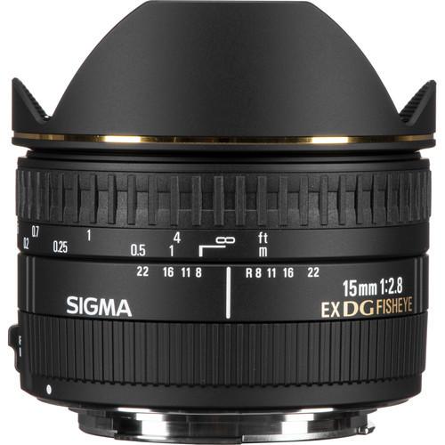 Sigma 15mm f 2.8 dg fisheye for canon