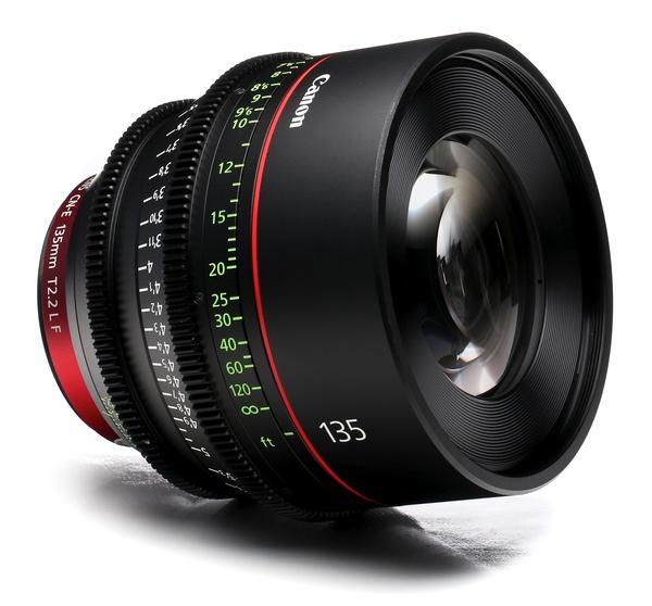 Canon cn e 135mm t2.2 l f cine lens
