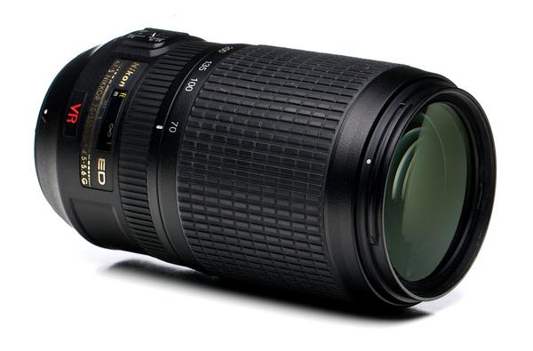 Nikon 70 300mm f 4.5 5.6g ed af s vr