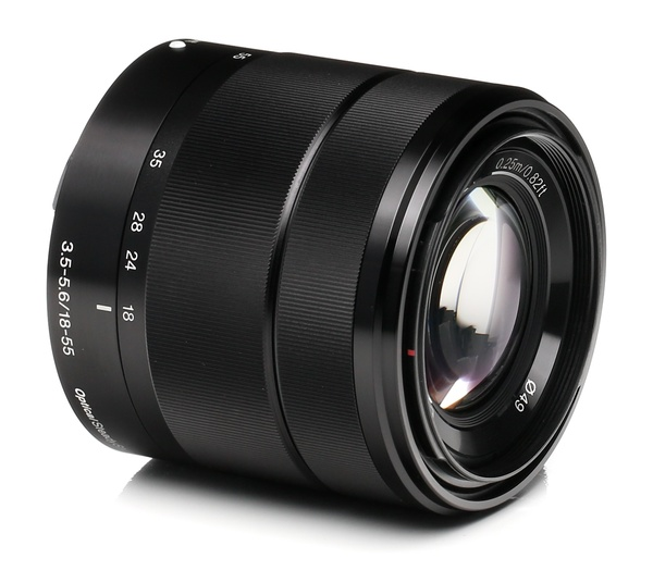 Sony nex e mount 18 55mm f 3.5 5.6 oss %28black%29