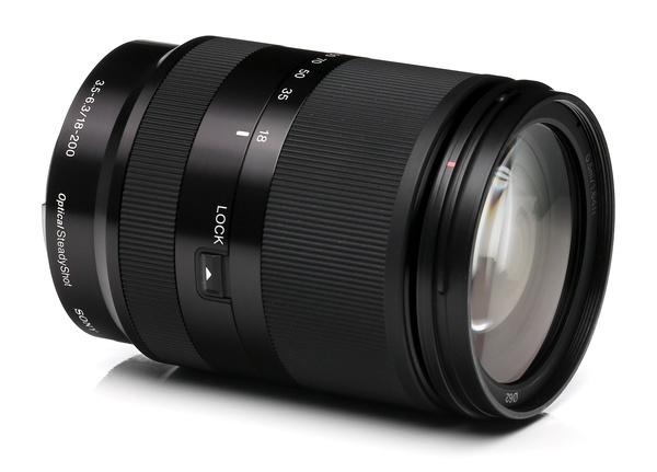 Sony nex e mount 18 200mm f 3.5 6.3 oss %28black%29