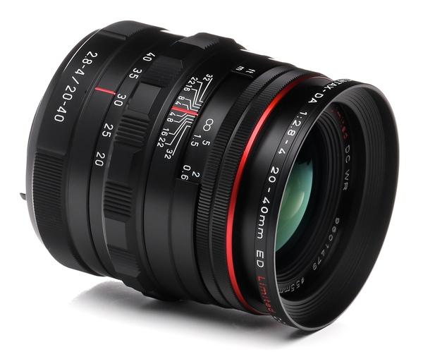 Pentax 20 40mm f 2.8 4 hd da ed