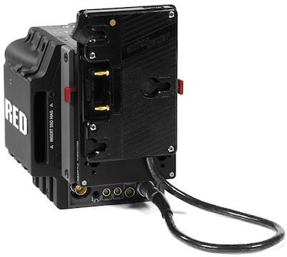 Anton bauer gold mount wooden camera quick back v2
