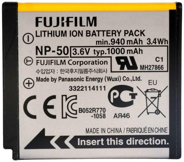 Fuji np 50 battery