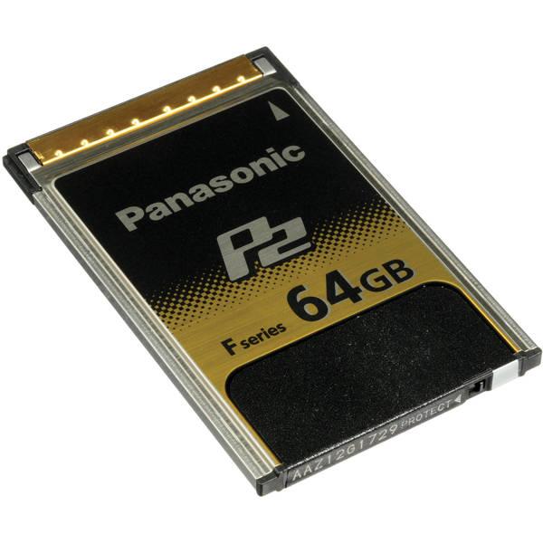 Panasonic p2 64gb f series