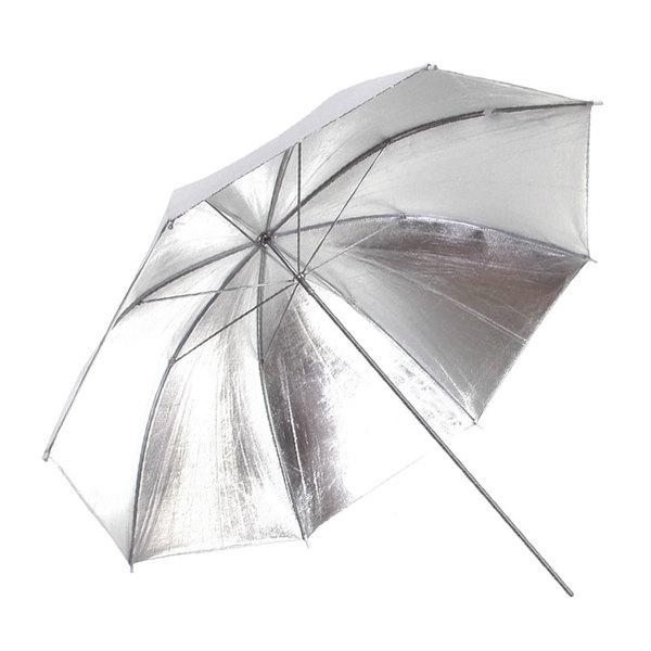 Paul c. buff 48%22 silver white bounce umbrella