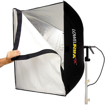 Lowel rifa 88 extra flo 80 softbox kit