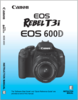 Canon EOS T3i Camera Manual (Stock)