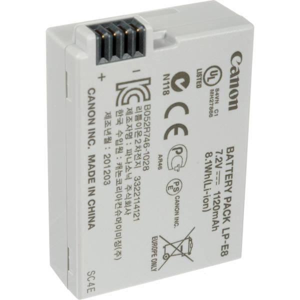 Canon lp e8 battery