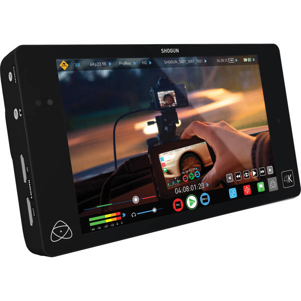 Atomos shogun 4k hdmi 12g sdi recorder and 7%22 monitor   full version