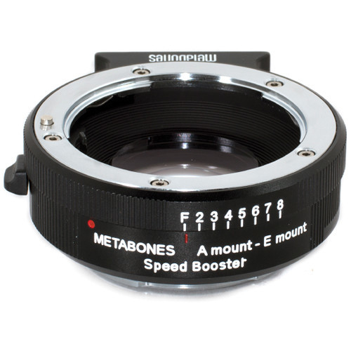 Metabones sony a lens to sony e speed booster