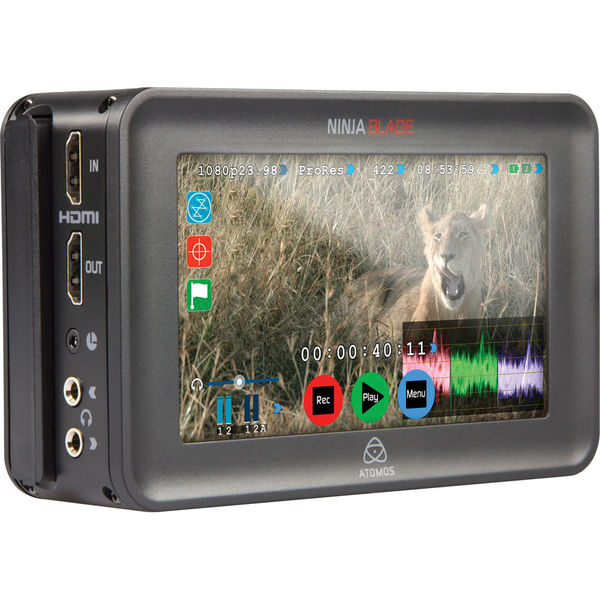 Atomos ninja blade 5%22 hdmi on camera monitor   recorder   full version