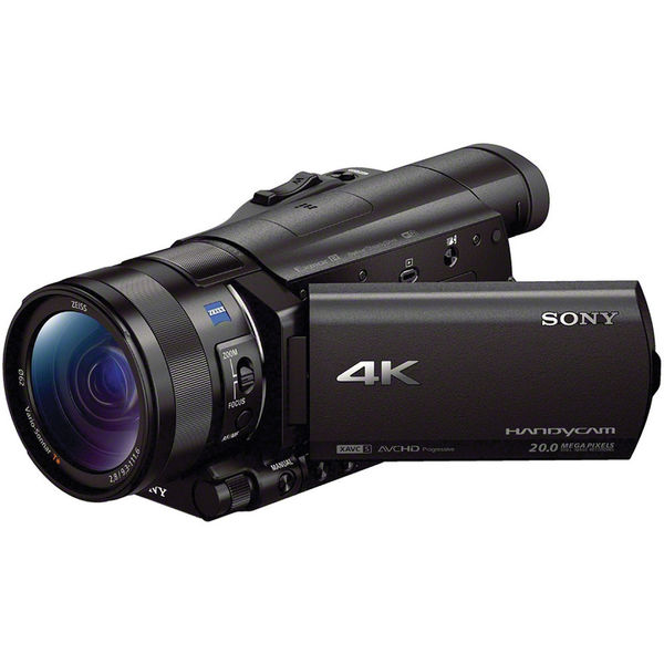 Sony fdr ax100 4k ultra hd camcorder