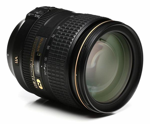 Nikon 24 120mm f 4 g af s vr