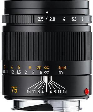 Leica 75 2.5