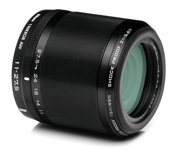 Nikon 1 aw 11 27.5mm f 3.5 5.6 aw1 mount lens