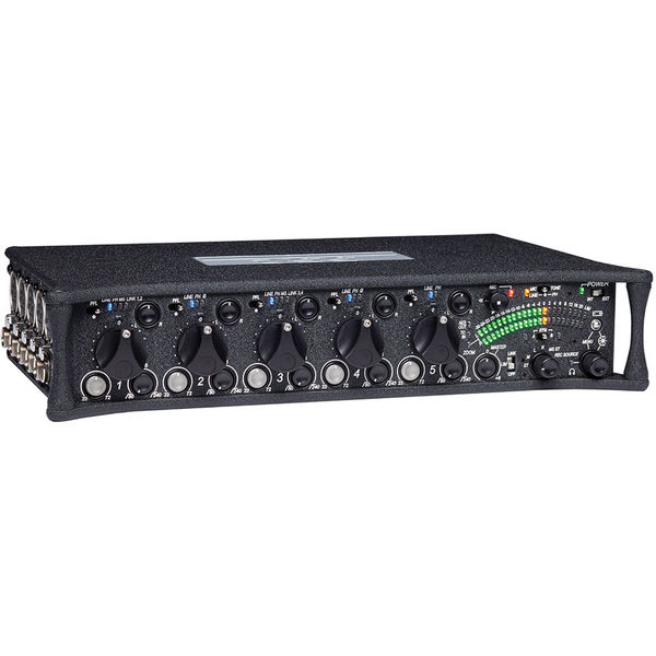 Sound devices 552 portable 5 channel production mixer and stereo recorder