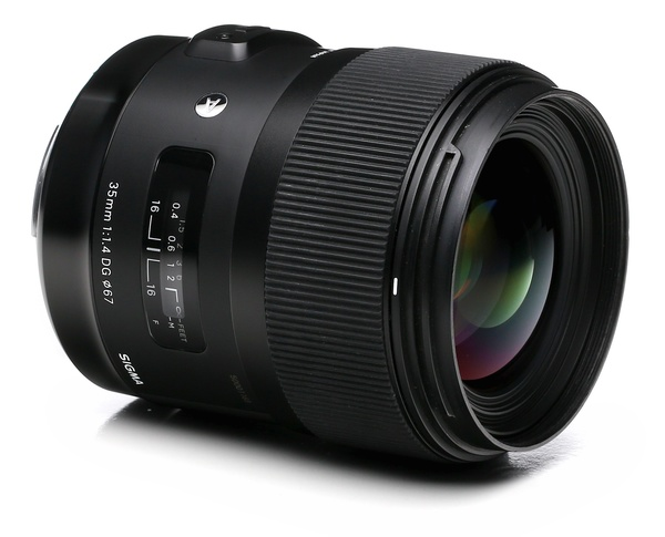 Sigma 35mm f 1.4 dg hsm art for canon