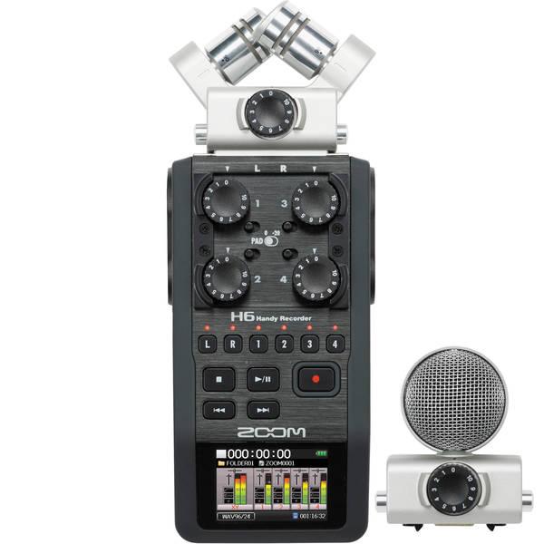 Zoom h6 handy recorder %28stock%29