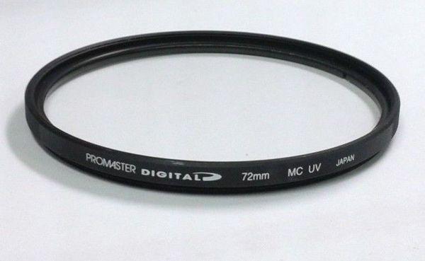 Promaster 72mm digital uv multi coated filter