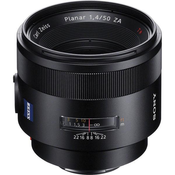 Sony zeiss 50mm f 1.4 za planar a mount lens
