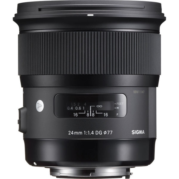 Sigma 24mm f 1.4 dg hsm art lens for canon