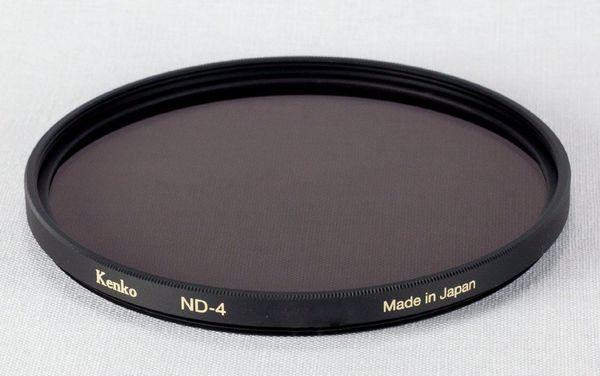 Kenko 82mm neutral density 0.6 filter