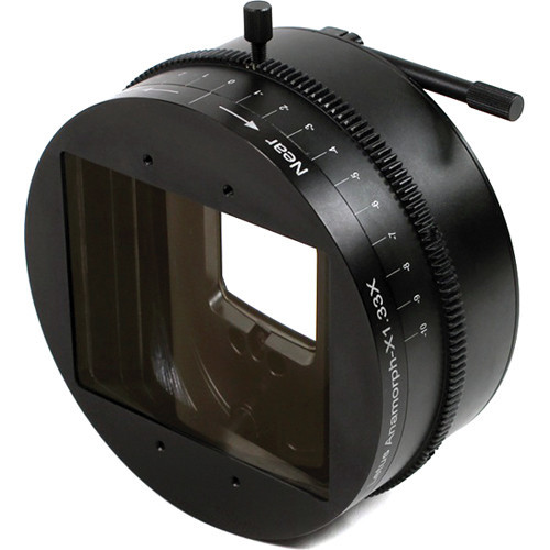 Letus35 anamorphx adapter with lens support   high flare