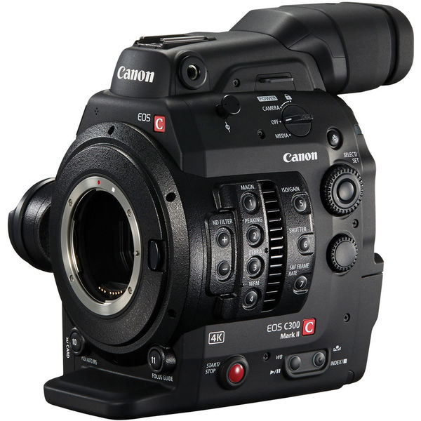 Canon eos c300 mark ii ef cinema camera   dual pixel cmos af