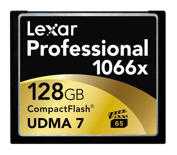Lexar professional cf 128gb 1066x udma 7 memory card