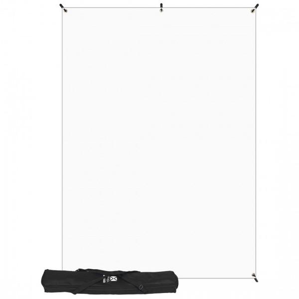 Westcott 5' x 7' white background for x drop system
